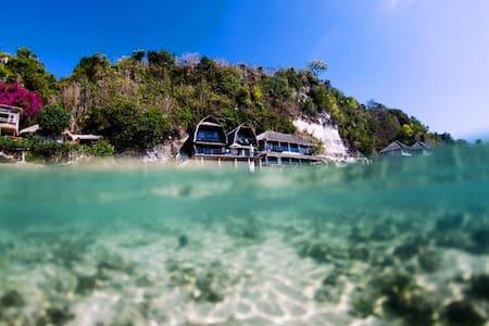 Beach Front Villa, Bali! RE - Ház