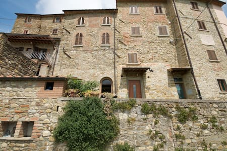 Skønt hus i Toscana - Castelluccio - House