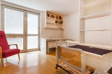 Lovely studio, close to the center, bus and railway stations. Is rigged for a pleasant and unforgettable stay.Perfect for one or two people.Table and chairs for eating. A Dresser and closet space. Clean bathroom with fresh towels.