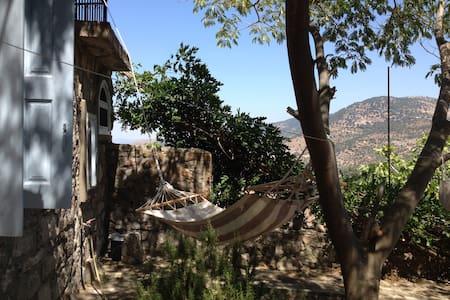 """""""Am Alex"""" Steinhaus in Traumlage, Lafionas, Lesbos - Casa"""