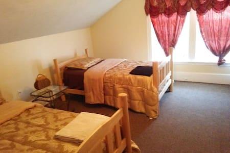 COMFY TWIN DOUBLE ROOM IN BOSTON - Boston - Bed & Breakfast