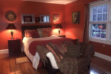One/two private rooms/sep entrance near CU/Gville - Easley - House