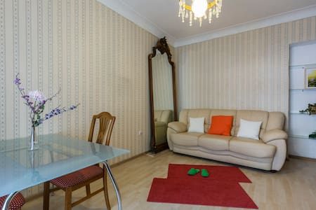 3 rooms apt. near Gorky Park - Moskva - Apartment