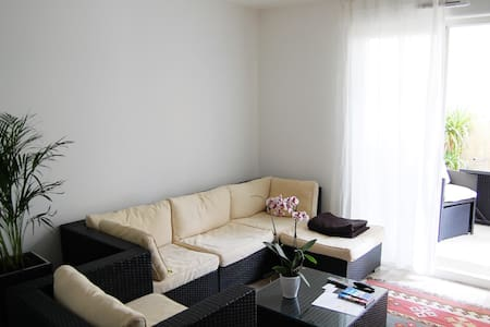 Nice Flat 46sqm balcony /10mn Paris