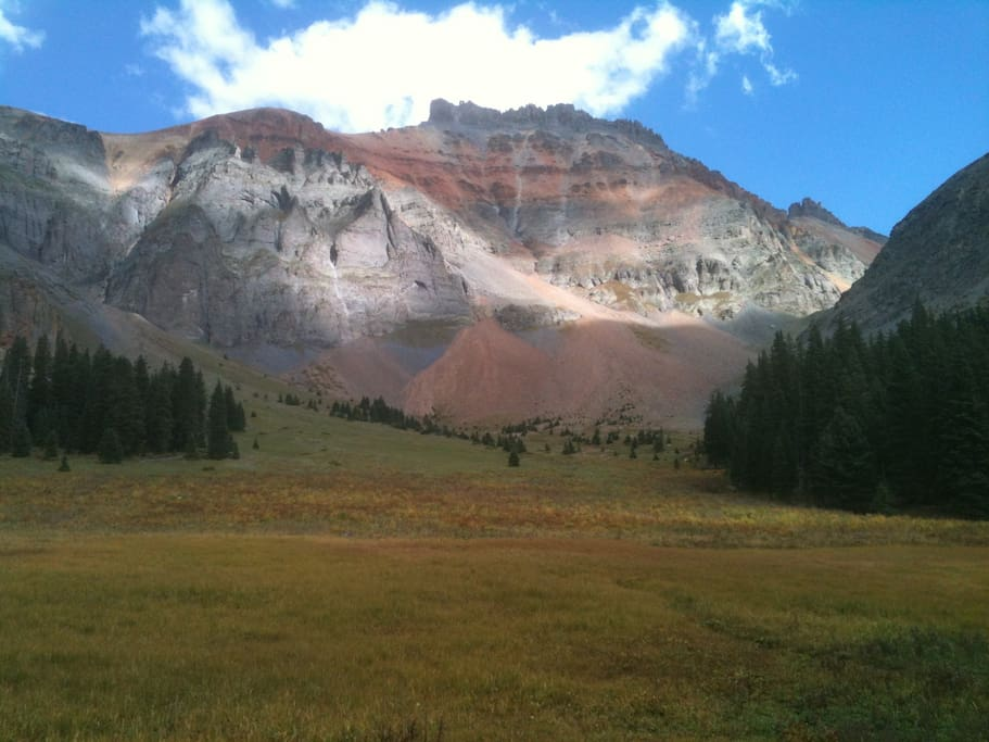 Hiking above Telluride