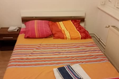 Nice bedroom in a shared flat!! - Berlin - Apartment