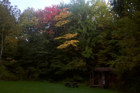 Log Cabin w/access to 20 mi. skiing& hiking trails - Zomerhuis/Cottage