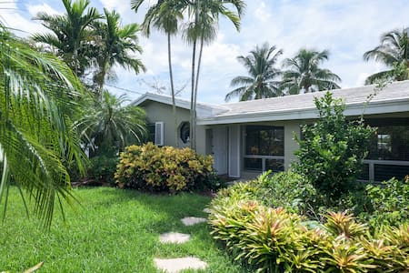 PRIVATE ROOM, 2 FULL SIZED BEDS - Fort Lauderdale - House