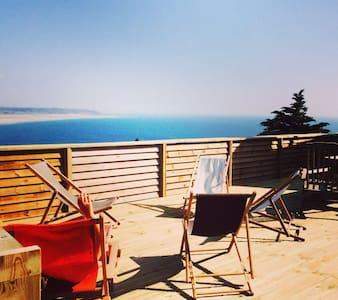 Maison de charme magnifique vue mer - Hus