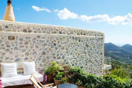 Authentic village stone house - Agios Ioannis, Ierapetra - Villa
