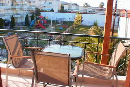 3 persons studio - KAllithea - Apartment
