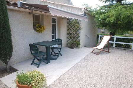 """Pavillon""""Côté Jardin""""/2 personnes. - Saint-Rémy-de-Provence - Bungalow"""