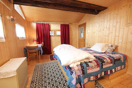 Wonderful Old Chalet great rooms - Vernamiège - Bed & Breakfast