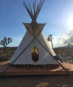 The Rising Sun Tipi at Lazy Sky (2) - Khemah Tipi