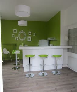 petit appartement avec mezzanine - Amboise - Daire