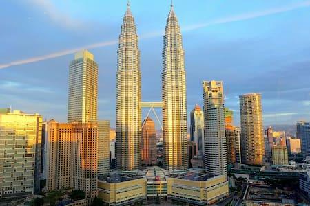 1# 2mins to KLCC @ Soho + FREE WiFi - Kuala Lumpur - Appartement
