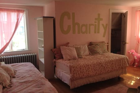 Shabby Chic 2 Twin or 1 King Bed - Baldwin