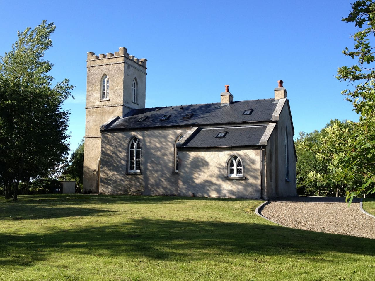 Bookeen Hall - a 200 year old church!
