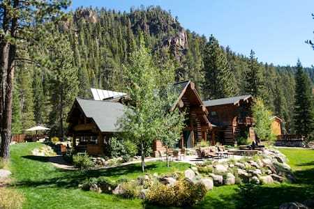 Beautiful mountain views, a location close to Squaw Valley and Alpine Meadows and luxe interiors with rustic details distinguish Painted Rock Lodge.