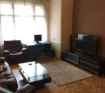 Small room in a nice spacious flat - Prague - Apartment