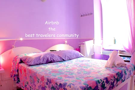 Violet Room in Trastevere area Rome