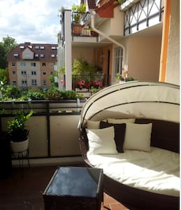 Cozy room for 2 in Frankfurt! - Apartamento