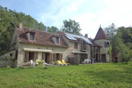 BED & BREAKFAST IN A  WATERMILL - Lignac - Bed & Breakfast