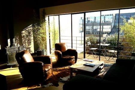 Grand loft + Roof terrasse - Suresnes - Loft