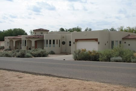 Located on 3 acres in Corrales. - House