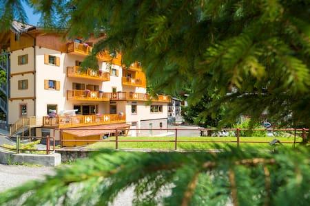 Camere con vista sulle Dolomiti! - Campitello di Fassa - Bed & Breakfast