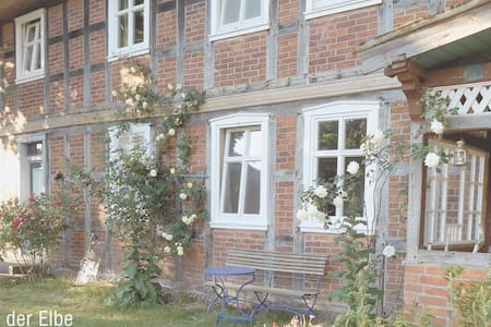 Ferienwohnung in altem Fachwerkhaus - Rumah