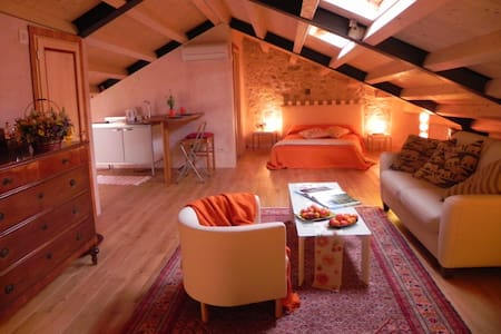 Top floor charming space - Vittorio Veneto - Loft
