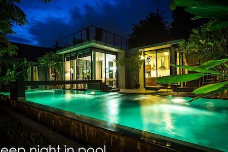 Deep night in Pool villa 【免费车+司机】 - Haus