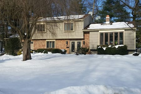 Entire House, 4BR, 20miles to NYC - Livingston - Casa