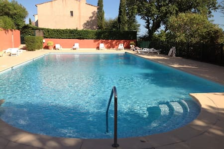Grimaud Charming flat with garden - Apartment