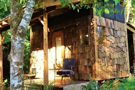 """""""The Glade""""   Cabin & Sauna Retreat - Duncan"""