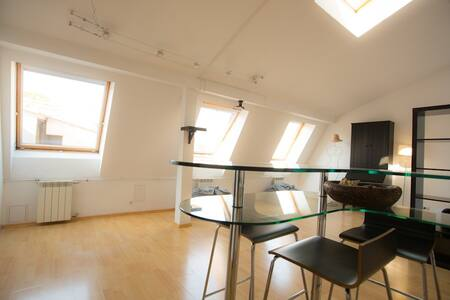 penthouse studio in the center