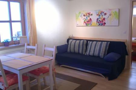Charmante 2 Zimmer Wohnung - Bad Tölz - Apartemen