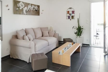 Located just minutes from Germany and the beautiful town of Colmar, this modern apartment features gorgeous city views and a balcony. With 1 beautiful bedroom, it sleeps 4.