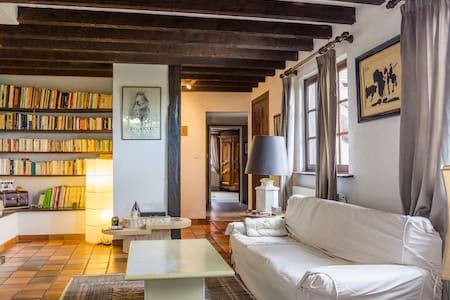 Chambres doubles Maison Alsacienne - Obermorschwihr - Huis