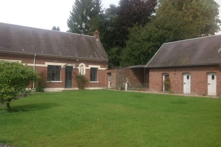 Property w/ horses,3km from Peronne - Allaines - House