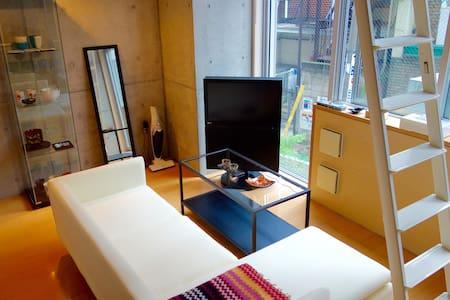 Cute Loft in Yoyogi - Shibuya-ku - Lägenhet