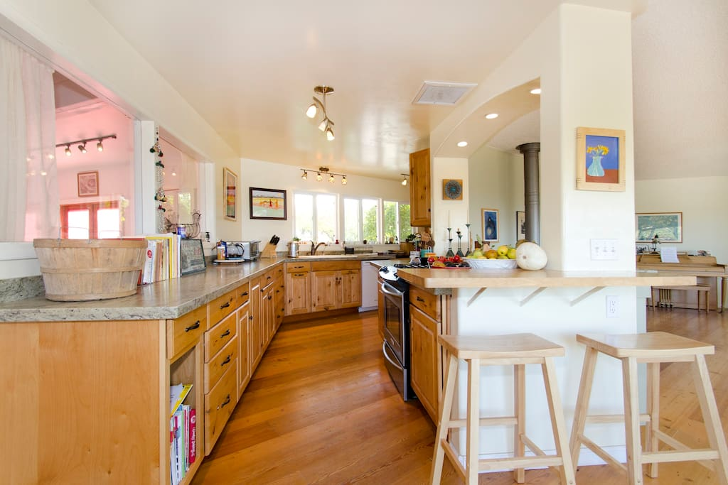 cook up a feast in our fully equipped kitchen