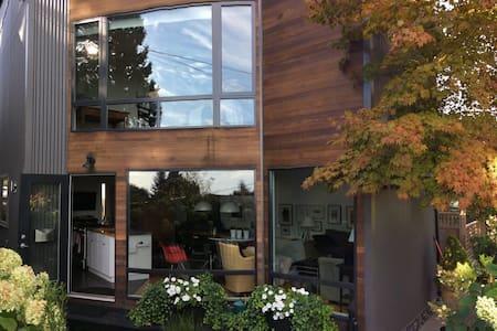 Bright, modern, loft style home