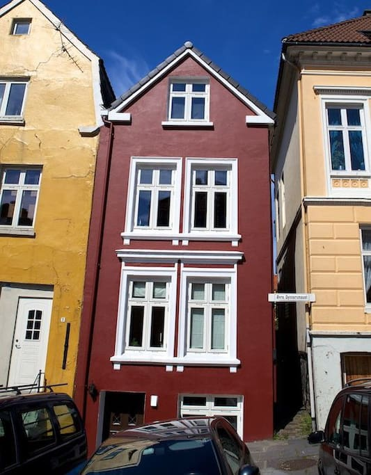 New apartment/heart of Bergen