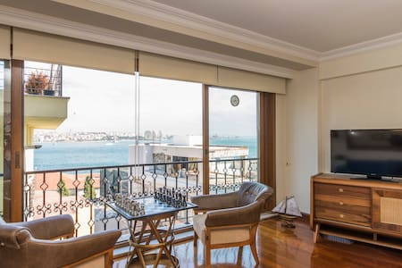 SKY FLATS NO.2 BOSPHORUS VIEW - Cihangir, Beyoglu - Apartment