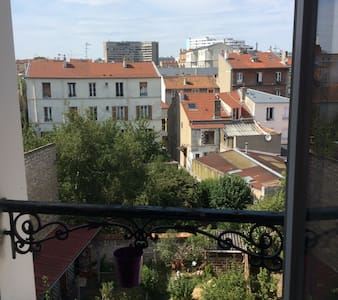 Appart 2P Malakoff avec coin jardin - Malakoff - Appartement