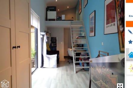 Chambre dans loft avec douche lille - Lille - Loft