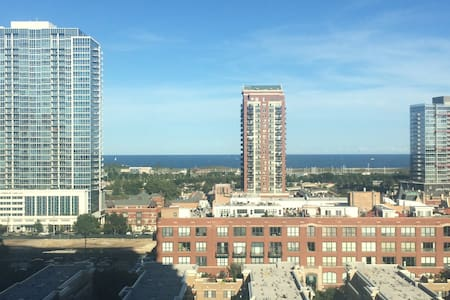 South Loop Condo with Lake Views