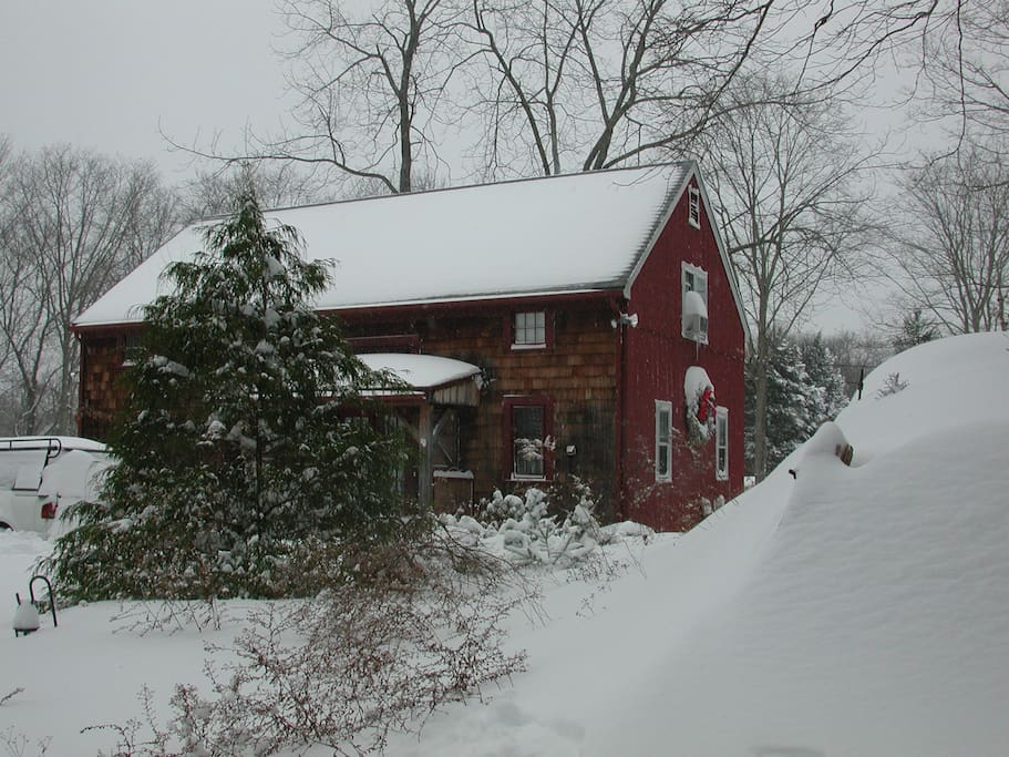 One of our particularly snowy winters a while back.